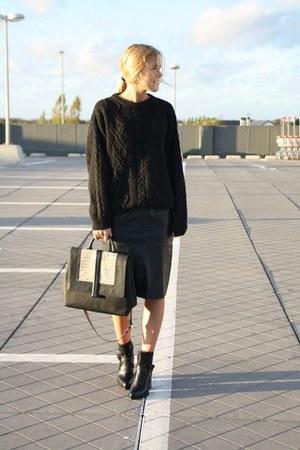 Zara boots - Zara bag