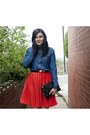 Navy-wwwsheinsidecom-shirt-carrot-orange-vero-moda-skirt