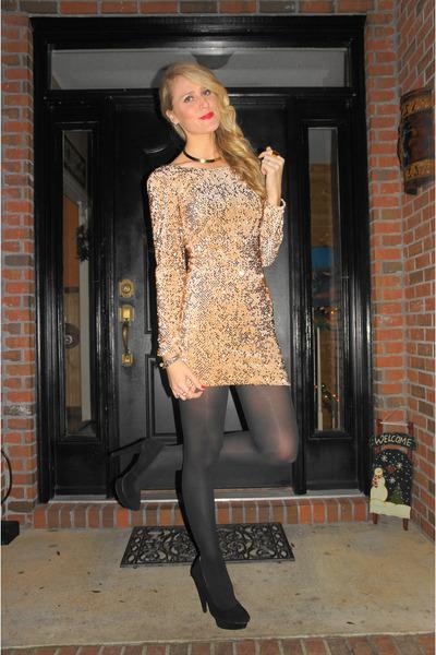 Gold Motel Rocks Dresses Black Target Tights Quot Nye Dress