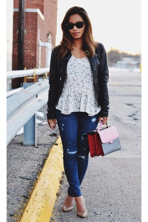 J Crew jeans - Fendi bag