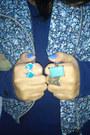 Sky-blue-las-lolitas-jacket-silver-osklen-bag-navy-zara-jumper