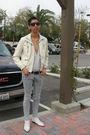 Black-forever-21-sunglasses-white-urban-outfitters-cardigan-white-forever21-