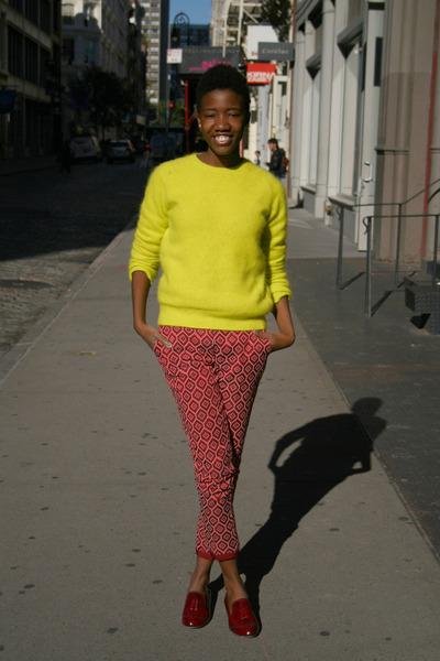 H&M sweater - Dolce Vita shoes - H&M pants