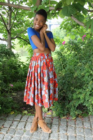 H&M skirt - asos top