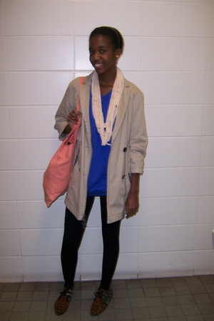 Urban Outfitters necklace - H&M sweater - Gap jacket - Topshop accessories - Ame