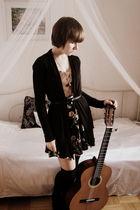brown Terranova shirt - black Terranova blazer - black Ze-Ze casual clothing ski