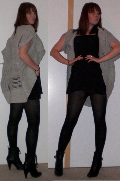 Vero Moda sweater - bobi dress - Ebay boots