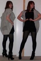 Vero Moda sweater - bobi dress - Ebay boots