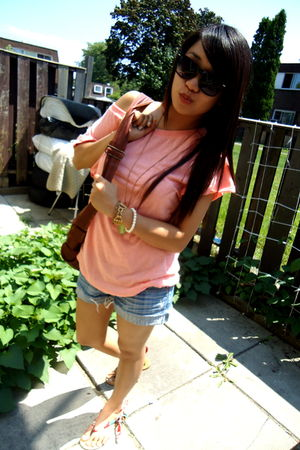 Forever 21 shorts - Zara shoes - sws top