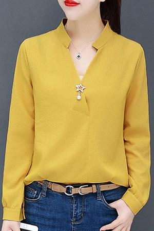 stripes blouses Berrylook blouse