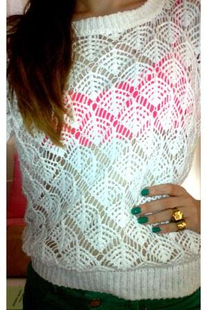 Oysho sweater - Oysho bra