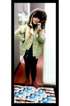 from yogyakarta shirt - moonbeam leggings - in her shoes boots - moonbeam coat