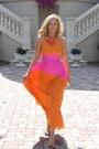 Color-block-tibi-dress-patent-leather-gucci-heels