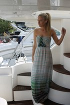 tie dye Cynthia Vincent dress