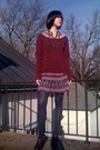 Red-vintage-sweater-red-forever21-skirt-blue-walmart-tights-brown-gojane-b