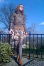 Brown-forever21-jacket-beige-h-m-sweater-beige-forever21-skirt-gray-walmar