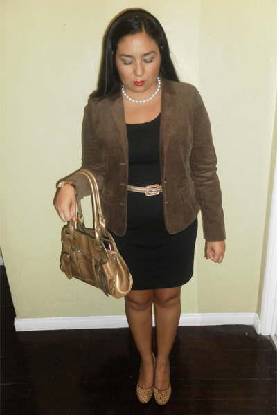 Urban Outfitters blazer - Ross bag - banana republic heels - Target necklace