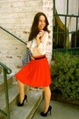 H-m-blouse-h-m-skirt-urban-outfitters-belt-dsw-pumps