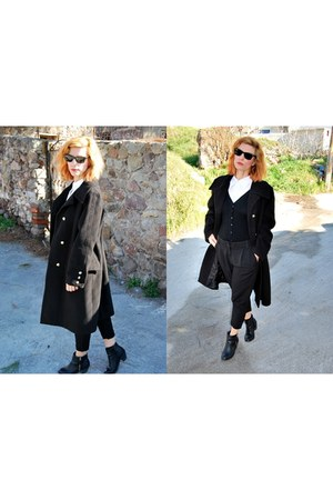 fullah sugah boots - Bellino coat - Zara cardigan - My collection pants