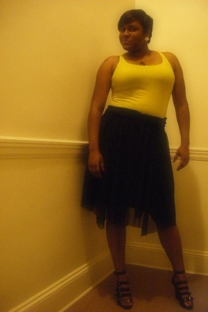 Old Navy shirt - Mossimo skirt - forever 21 shoes