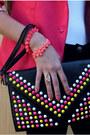Hot-pink-ahai-shopping-blazer-black-sammy-dress-bag-cream-sammy-dress-ring