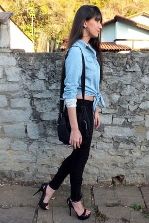 light blue Vateno blouse