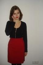 Annie Rolfie t-shirt - H&M dress - KIK skirt
