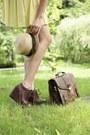 Stradivarius-hat-romwe-bag-romwe-wedges-second-hand-skirt-crochet-second