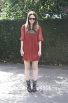 sam edelman boots - Ganesha Ibiza dress