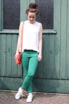 Primark bag - Zara pants - Zara top