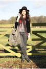 Studded-sam-edelman-boots-velvet-urban-outfitters-jacket-printed-river-islan