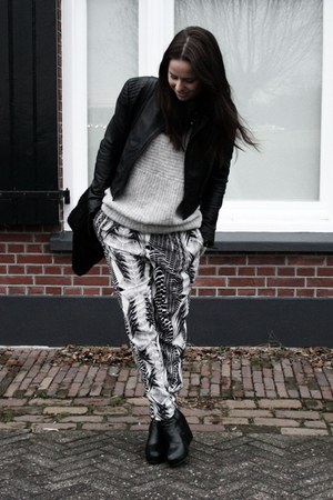 H&M pants - COS jumper - H&M jacket