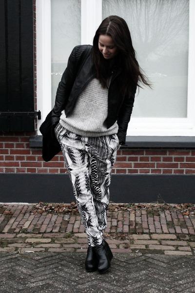H&M pants - COS jumper - H&M jacket