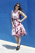 Tie-dye-dress-bird-on-a-wire-vintage-dress