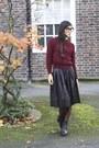 Pleats-bird-on-a-wire-skirt