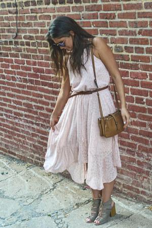 Levis belt - Target dress - Forever 21 bag - Charlotte Russe sandals