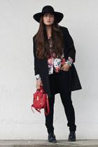 31 Phillip Lim bag - Zara coat - H&M hat - Zara shirt