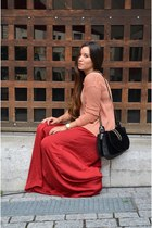 maxi Zara skirt - Aro sweater