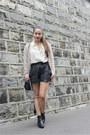Zara-shoes-selected-jacket-mbym-shirt-craie-bag-viva-frida-shorts