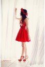 Ruby-red-dress-ruby-red-pumps