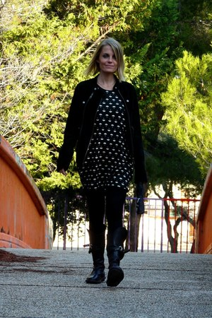 Molly Bracken dress - trippen boots - Bel Air jacket