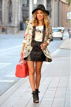 PERSUNMALL blazer - Mango skirt