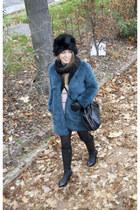 Zara coat - Choies boots - Bimba & Lola bag - Vero Moda jumper