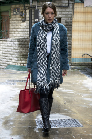 Michael Kors bag - choiescom boots - Zara coat