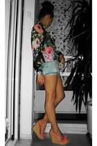 H&M shirt - Zara shorts