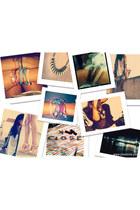 Zara shirt - Zara shorts - DIY bracelet - Zara necklace