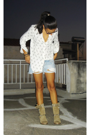 Zara shoes - Zara shirt - Zara shorts