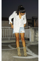 Zara shoes - Zara shirt - Zara shorts