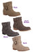 black black canvas Blowfish Jeno boots - dark brown brown canvas Blowfish Jeno b