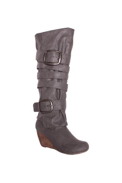 gray Blowfish boots